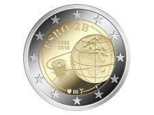 """2 Euro Sondermünze Belgien 2018""""Esro"""" UNC / bankfrisch"""