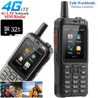 32GB Unlocked 4G LTE Android Rugged Dual SIM Smartphone Walkie Talkie PTT Phone