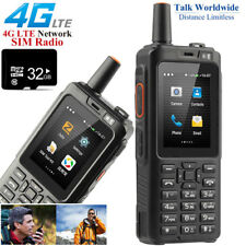 32GB Unlocked 4G LTE Android Rugged Waterproof Smartphone Walkie Talkie PTT GPS
