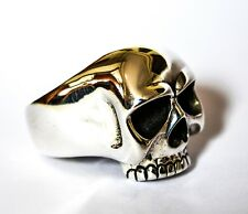 """Keith Richards"" enorme Solido Argento Sterling 925 Anello Teschio Q (US 8) 24 G 0.8 OZ (ca. 22.68 g)"