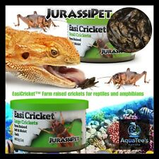JurasiDiet Small Cricket Food 35g Aqua Fish Reptile Lizard Frog Turtle amphibian