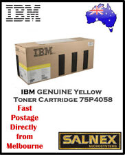 IBM GENUINE 75P4058 Yellow Laser Toner Cartridge  For InfoPrint Color 1354,1464