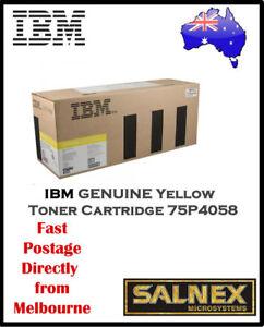 IBM GENUINE 75P4058 Yellow Laser Toner Cartridge  For InfoPrint Color 1354,1464