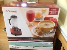 2 Vitamix 6300 7 years warranty (BLACK ,RED, WHITE, PLATINUM,STAINLESS STEEL)