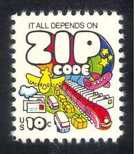 EE. UU. 1973 tren de transporte postal// avión/Bus/Código Postal/Automovilismo/Ferrocarriles 1 V (n29301)