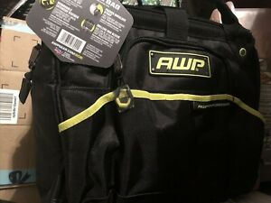 AWP HP 14-in Zippered Tool Bag  3L-2214-HP Heavy Duty Pro Tool Bag w/Strap NEW