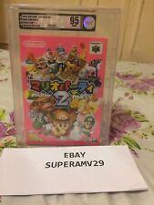 Mario Party 2 64 Nintendo N64 Japan RELEASE 1999 VGA GRADED 95 ARCHIVAL CASE