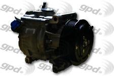 A/C Compressor-New Global 7513154 fits 12-13 Fiat 500 1.4L-L4