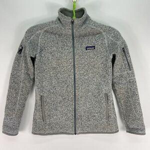 Patagonia Better Sweater Full Zip Fleece Heather Gray Women's Size Medium
