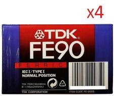 4 K7 TDK Fe90 Ferric IEC I/type I normal position