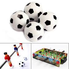 4x 32mm Plastic Soccer Table Foosball Ball Football Fussball Kids Xmas Toy Gift