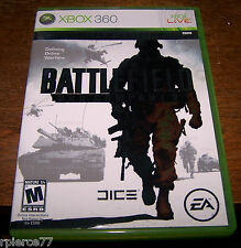 X-BOX 360 - BATTLEFIELD - BAD COMPANY 2 - w/Manual - Rated M - EUC!