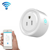 Smart Power Socket 2.4GHz Wifi Wireless Mini Switch Remote Control Timer Outlet