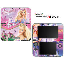 Barbie Odette Princess Unicorn for New Nintendo 3DS XL Skin Decal Cover