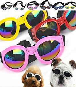 Waterproof Pet Puppy Dog Sunglasses Sun Glasses UV Protection Eye Wear Cute