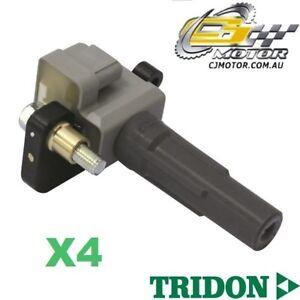 TRIDON IGNITION COIL x4 FOR Subaru Impreza WRX 09/05-08/09, 4, 2.5L EJ25DET