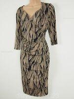 BNWT SAVOIR Body Sculpting Confident Curves Wrap Dress Size 18 Stretch