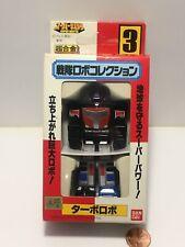 BANDAI Robo Sentai #3 Turbo Robo mini Megazord Power Rangers Kousoku Turboranger