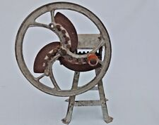 Small Old Vintage Rare Corn Stalk Forage chopper, Chaff Cutter Hand Operated