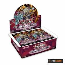 More details for yugioh legendary duelists rage of ra sealed booster box of 36 packs (reprint)