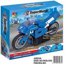 Woma Superbike Supermoto 3 in1 Bausteine Set  301 Teile  J5653A