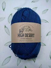 High Desert Sport Weight Yarn - 298 Yards - Stargazing (Slate Dark Blue)