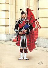 Postcard The Scots Guards, Pipe Major, Scots Guards, London 1897 #25-4