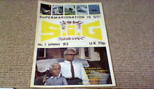 SIG 7 Fanderson Magazine 1983 Gerry Anderson Terrahawks Space 1999 Joe 90