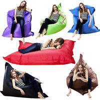 Giant Beanbag Cushion Pillow Indoor Outdoor Relax Gaming Gamer Bean Bag portable