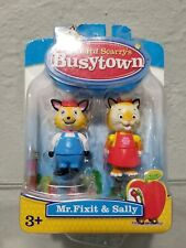 Richard Scarry's Busy Town Figures Mr. Fixit & Sally