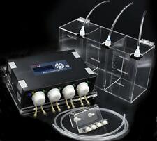 JEBAO DP-4 AUTO DOSING PUMP COMPLETE KIT 5 IN 1 PUMP LIQUID BOX TUBING & HOLDER
