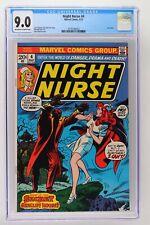 Night Nurse #4 - Marvel 1973 CGC 9.0 Last issue.