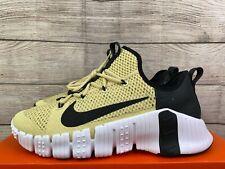 New listing NEW Nike Free Metcon 3 Vegas Gold Training Shoes CJ0861 791 Men's Size 12.5