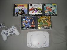 Ps one con 5 PlayStation 1 > jugar carreras de coches (114) Disney paquete ps1, etc.