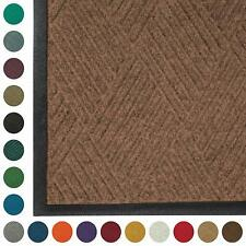 Stain Resistant Door Mat Indoor//Outdoor Quick-Drying Commercial-Grade Entrance Mat Bluestone, 6 Length x 6 Width x 3//8 Thick WaterHog Diamond Fashion
