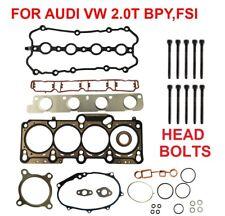Cylinder Head Gasket Set W BOLTS AUDI A4 2.0T VW PASSAT 2.0T BPY CDMA ENG