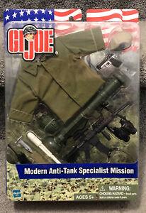"GI JOE Modern Anti-Tank Specialist Mission 12"" 2002 Hasbro NEW Sealed"