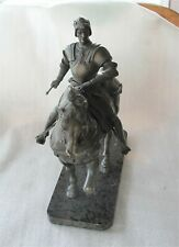 Antique French Bronze Figure Henry IV