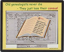 Family History Mousemat - Census Day
