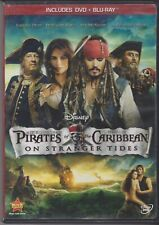 Pirates of the Caribbean on Stranger Tides (Blu-ray and DVD, 2011)