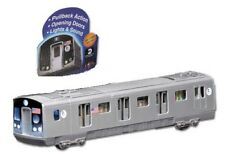 MTA R160 Subway Car NYC Diecast 1:87 Scale E Train Queens To World Trade Center