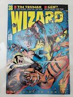 WIZARD COMICS MAGAZINE #38 1994 ORIGINAL ADAM KUBERT SABRETOOTH WOLVERINE COVER