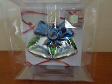 Detroit Lions NFL Christmas Ornament Glass Blown NEW