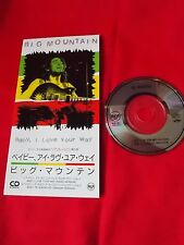 "BIG MOUNTAIN / BABY I LOVE YOUR WAY  / 3"" JAPAN JAPANESE SINGLE mini CD / UK DSP"