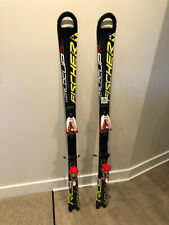 Fischer RC4 World Cup Slalom Race Skis 145 cm w/ Marker Comp 12.0 bindings