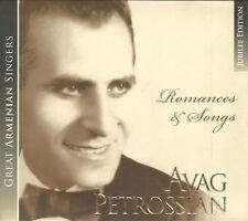 Avak Petrosyan Armenian Classic Avag indulgenze opera Romances & canzoni Jubilee