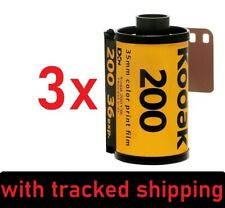 3x Kodak Gold 200 ISO - 135/36 - 35mm 36 Exp. - Farbfilm Color Negative 06/2023