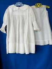 Lovely Antique Child's Baby Dress w/Matching Slip