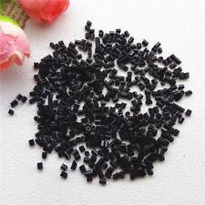 Preciosa 2mm 800pc AB Tube Bugle Beads Czech Glass Seed Beads Jewelry Making