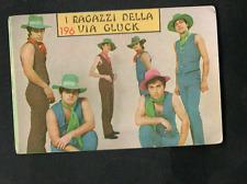 Figurina Cantanti Panini 1968! N.196! I Ragazzi della via Gluck Ottima!!